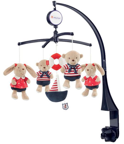 baby fehn ocean club musik mobile teddy hase guter mond schlafmusik babybett ebay. Black Bedroom Furniture Sets. Home Design Ideas