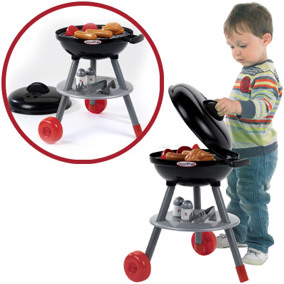 ecoiffier barbeque gartengrill schwarz grill kinder spielzeug kindergrill neu. Black Bedroom Furniture Sets. Home Design Ideas