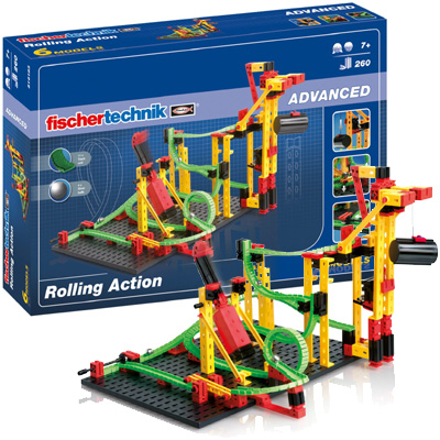 Fischer-Technik-Fischertechnik-Advanced-Rolling-Action-Kugelbahn-516183