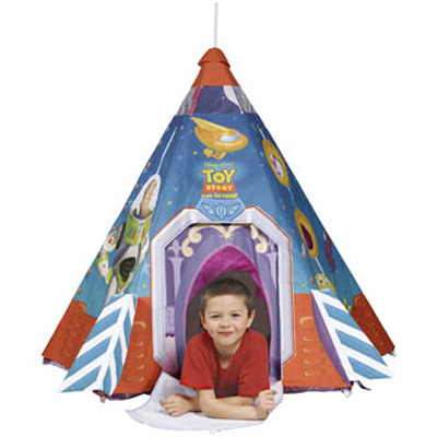 hilka disney tipi toy story spielzelt kinderzelt spielhaus zelt kinder tippi ebay. Black Bedroom Furniture Sets. Home Design Ideas
