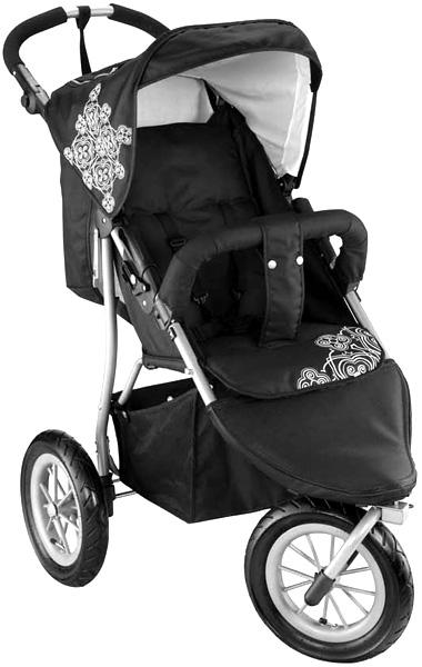 knorr baby 3 rad sportwagen joggy s black kinderwagen babywagen jogger buggy neu ebay. Black Bedroom Furniture Sets. Home Design Ideas