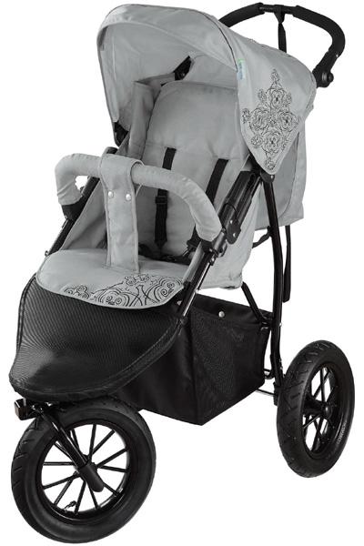 knorr baby 3 rad sportwagen joggy s hellgrau kinderwagen kinderbuggy jogger neu ebay. Black Bedroom Furniture Sets. Home Design Ideas
