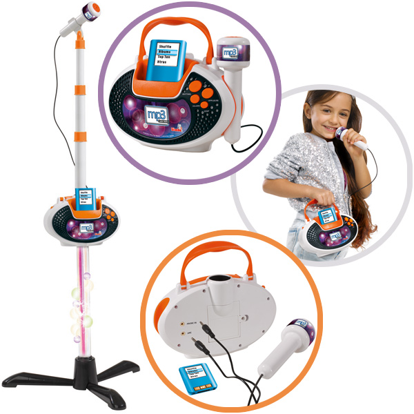 simba my music world i mic musicstation 2in1 mikrofon mikrophon kinder spielzeug ebay. Black Bedroom Furniture Sets. Home Design Ideas