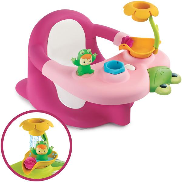 smoby cotoons badesitz 2in1 pink sitz f r badewanne baby frosch badewannensitz ebay. Black Bedroom Furniture Sets. Home Design Ideas
