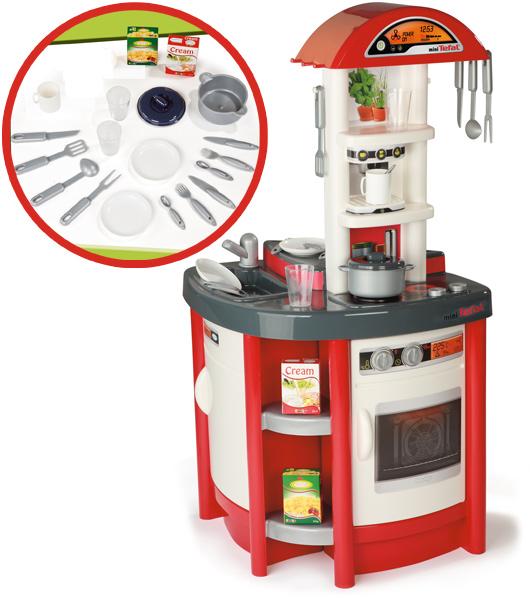 Smoby Elektronische Tefal Studio Küche Rot Spielküche