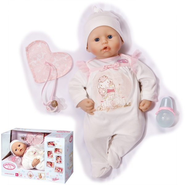 zapf creation baby annabell babypuppe 2013 puppe funktionspuppe neu ebay. Black Bedroom Furniture Sets. Home Design Ideas